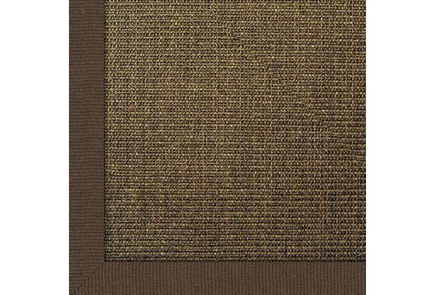 Astra Manaus mit ASTRAcare (Fleckenschutz) 200 x 200 cm dunkelbraun Farbe 64