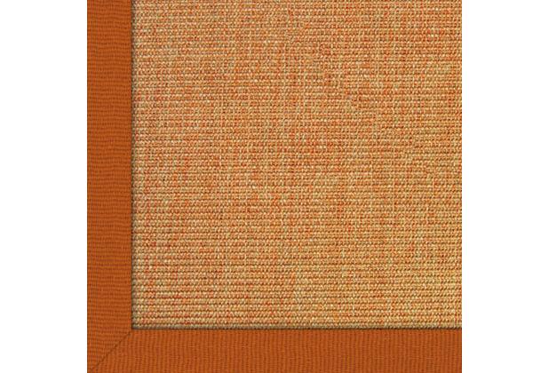 Astra Sisalteppich Manaus mit ASTRAcare (Fleckenschutz) 200 x 200 cm lachs Farbe 55