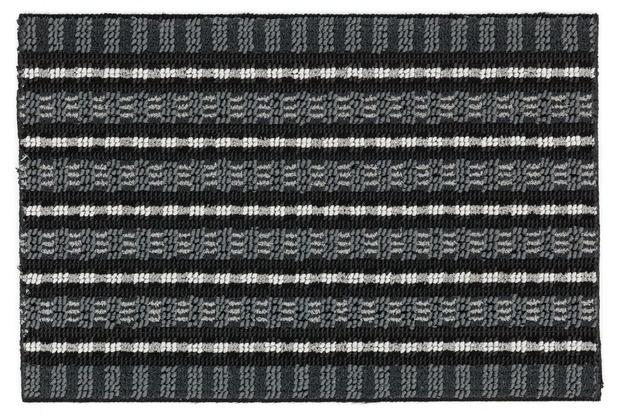 Astra Poly Brush schwarz/silber 40 x 60 cm
