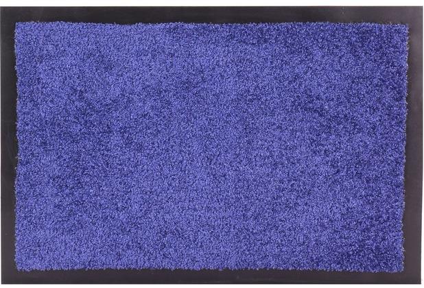 Astra Fußmatte Tex Uni blau 40 cm x 60 cm