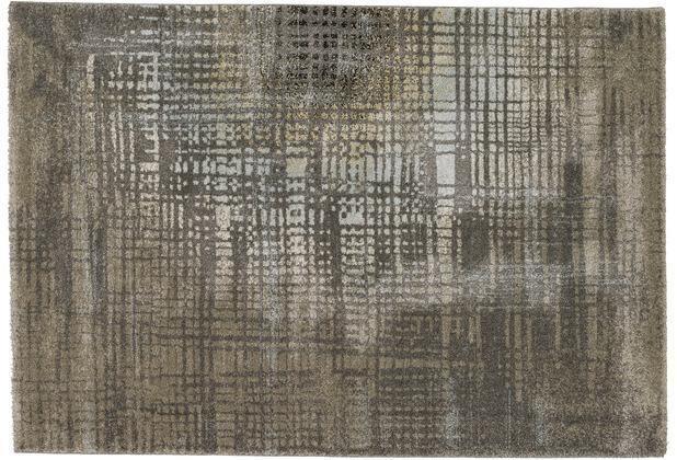 Astra Ravello Design 173 Farbe 040 Halbmond grau 200 x 290 cm