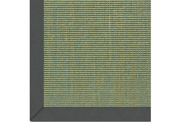 Astra Sisalteppich, Salvador, Col. 36 blau-grün, mit Astracare Wunschmaß