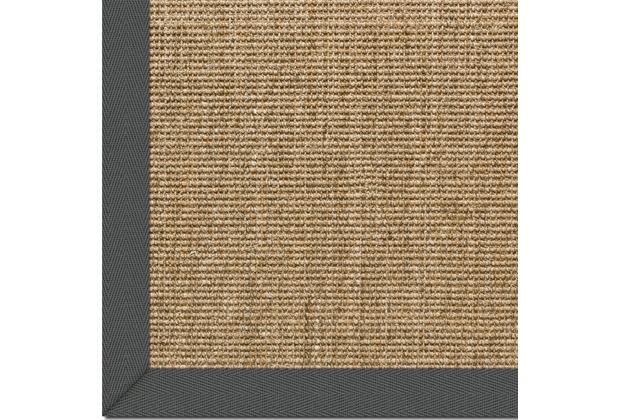 Astra Sisal-Teppich, Salvador, Col. 85 hellbraun, mit Astracare Wunschmaß