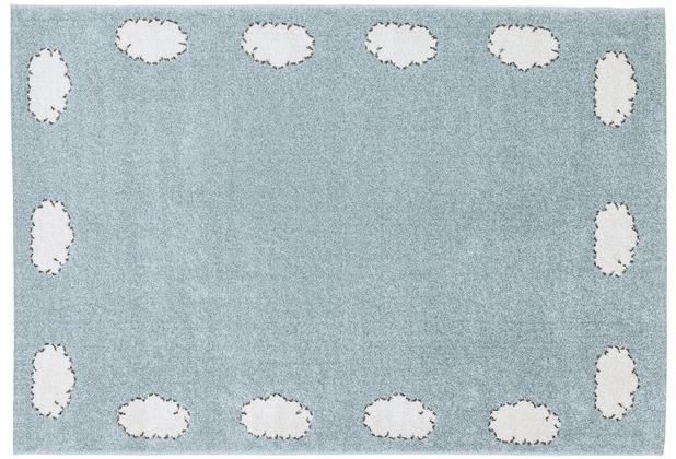 Astra Teppich Bambica Design 171 Farbe 002 Wolke Bordüre 160 x 230 cm