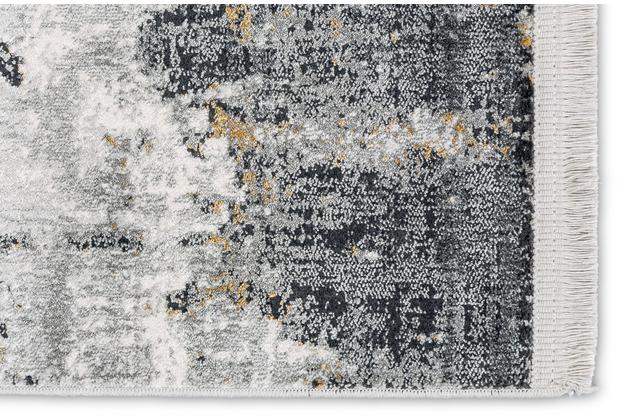 Astra Teppich Julia D.202 C.004 anthrazit/creme Allover 80x150cm