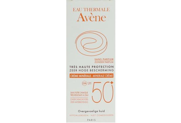 Avène Sun Care Mineral Cream SPF50+  50 ml