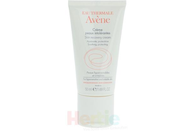 Avène Skin Intolerant Skin Cream For Hypersensitive And Irritable Skin 50 ml