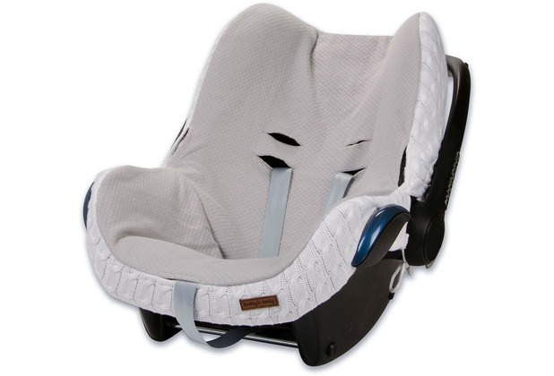 Baby\'s Only Bezug Maxi-Cosi 0+ Cable weiß