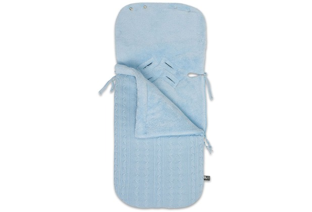 Baby\'s Only Fußsack Maxi-Cosi 0+ Cable baby blau
