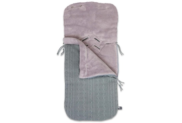 Baby\'s Only Fußsack Maxi-Cosi 0+ Cable grau