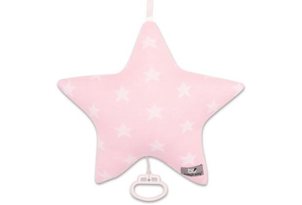 Baby\'s Only Spieluhr Sterne Stern Baby Rosa / Weiß