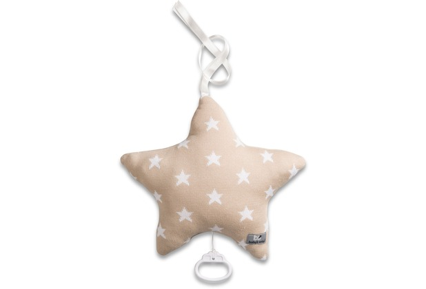 Baby\'s Only Spieluhr Sterne Stern Beige / Weiß