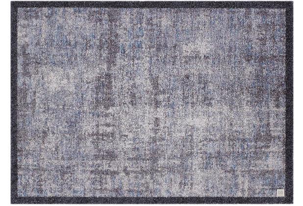 Barbara Becker Fußmatte b.b Protect blau-grau 40 x 60 cm