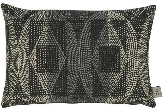Barbara Becker Kissen (gefüllt) African Soul grau 50 x 35 cm