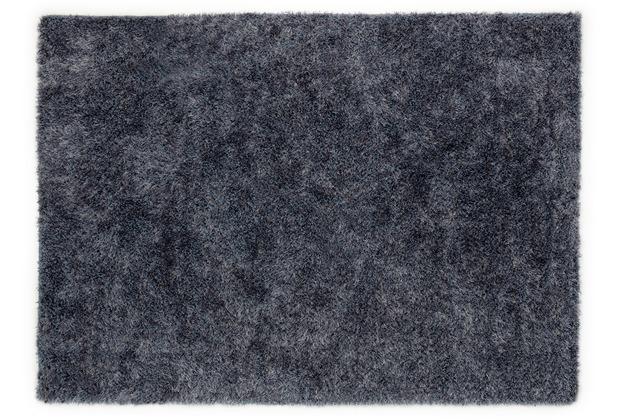 Barbara Becker Hochflorteppich Emotion blau 160 cm x 230 cm