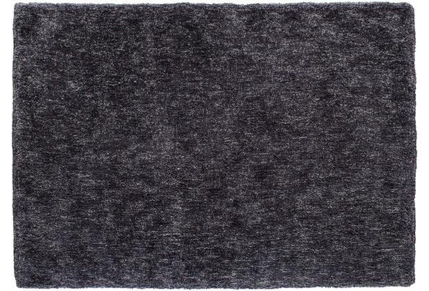 Barbara Becker Hochflor-Teppich Touch lavagrau 70 x 140 cm