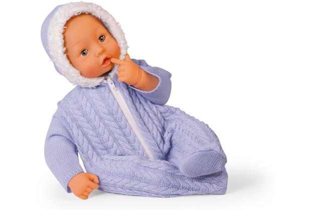 Bayer Design Babypuppe Bambolina 46 cm blau