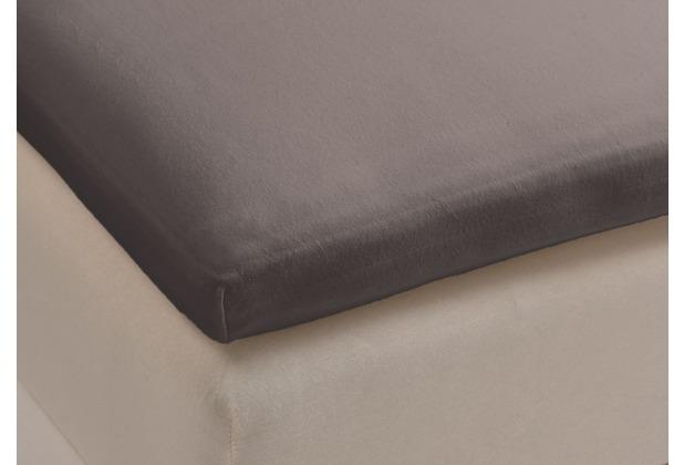 beddinghouse jersey spannbettlaken f r topper taupe. Black Bedroom Furniture Sets. Home Design Ideas