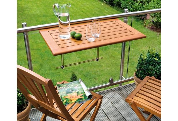 belardo balkontisch aus holz 50x80 cm f r. Black Bedroom Furniture Sets. Home Design Ideas