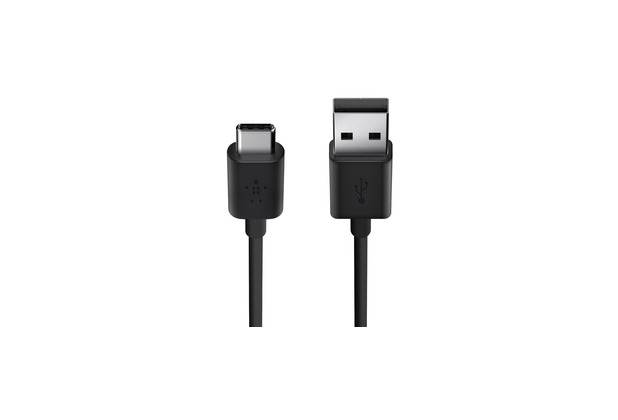 Belkin USB 2.0 Kabel, USB-C auf USB-A, Schwarz