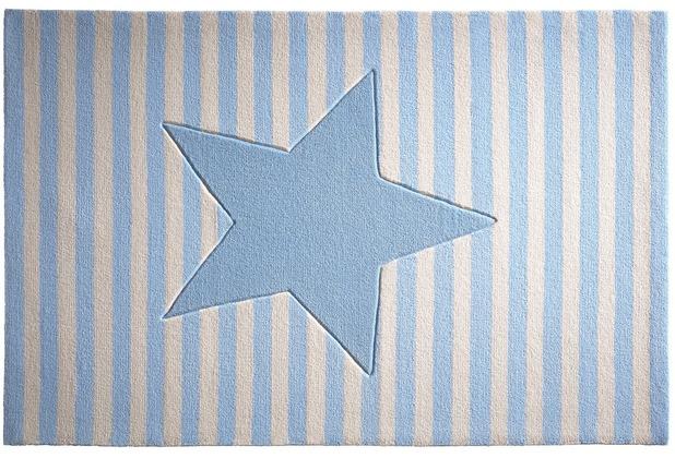 bellybutton Teppich BB-4214-04 My little Star blau 60x100
