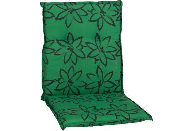 BEO Bodrum M906 sattes Grün mit Blumenzeichnung 118 x 50 x 6 cm