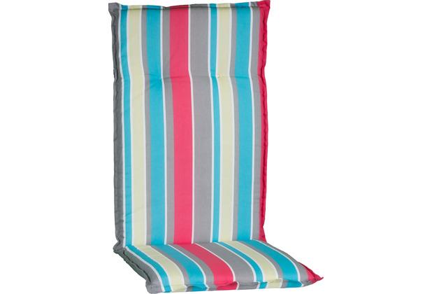 BEO Hochlehner bunte Streifen pink, blau M724