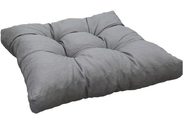 BEO Lounge 50x50 100% Baumwolle hellgrau AU94