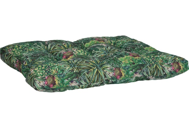 BEO Palettenmöbelsitzkissen 120x80x16cm Kaktus Druck BE911