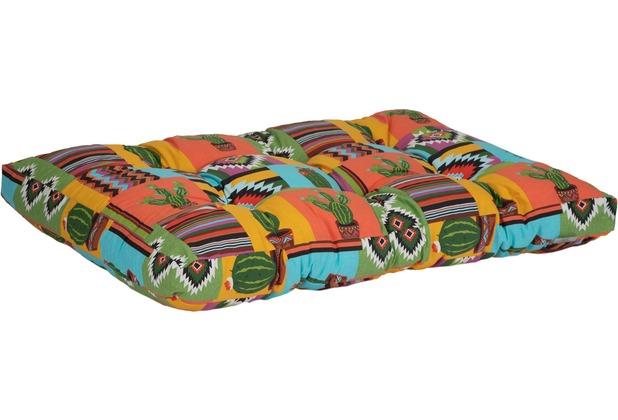 BEO Palettenmöbelsitzkissen 120x80x16cm Mexico Desin BE912