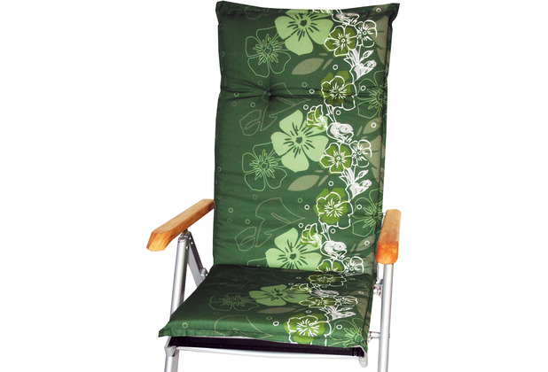 BEO Saumauflage Hochlehner grüner Hintergr. M. Blumenranke M309