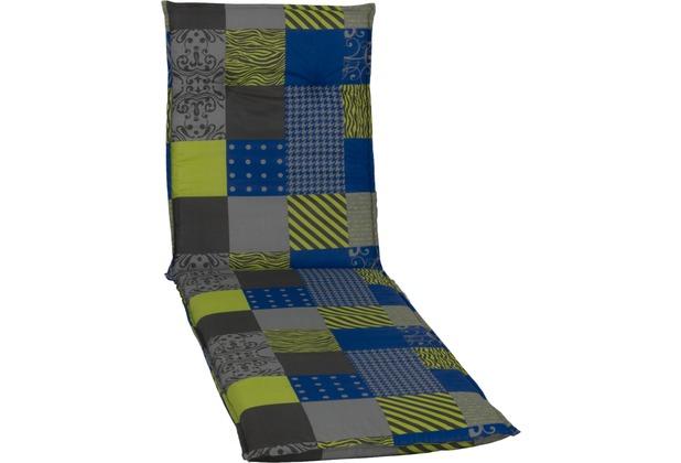 beo saumauflage liegenauflage barcelona gr n blau grau anthrazit. Black Bedroom Furniture Sets. Home Design Ideas