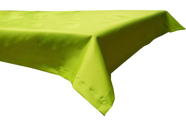 BEO Tischdecke 130x230 wasserabweisend mit Windport hellgrün PY306
