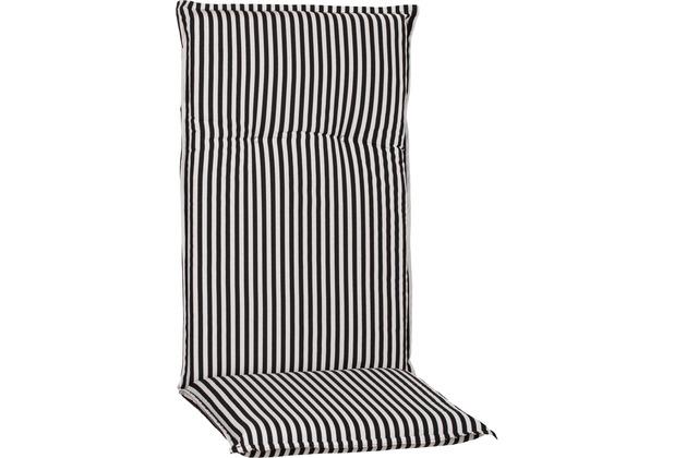 BEO Tupelo BE807 Streifen schwarz/weiss groß, kleine Sitzfläche