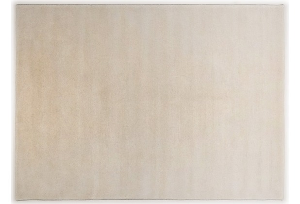 THEKO Nepalteppich Mostar uni, white 70cm x 140cm