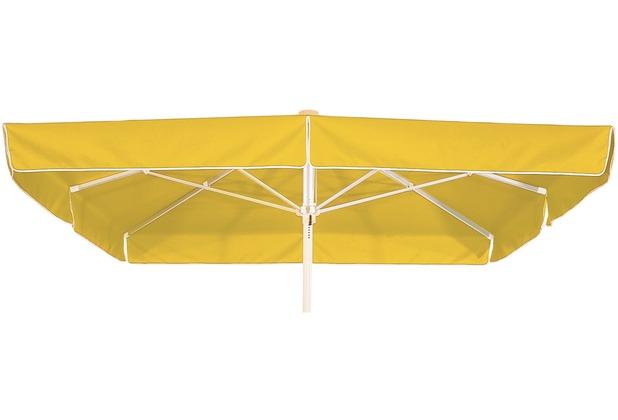 Best Großschirm Mallorca 300x300cm/8-tlg. gelb Sonnenschirm