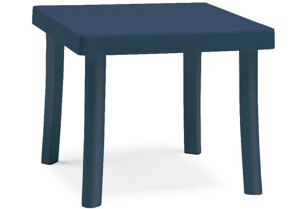 Best Hocker Florida 46x46x40cm blau