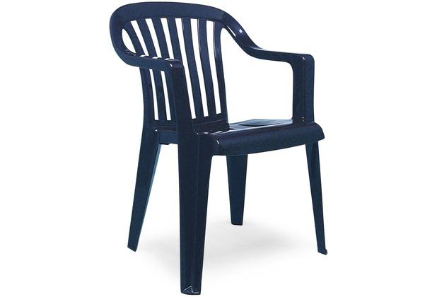 Best Stapelsessel Memphis blau Gartenstuhl