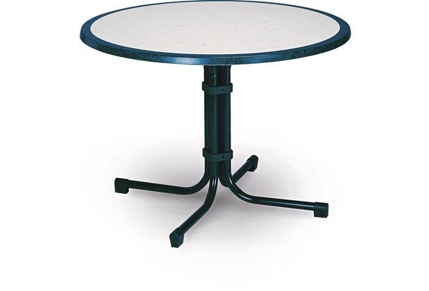 best tisch boulevard rund 100cm blau. Black Bedroom Furniture Sets. Home Design Ideas