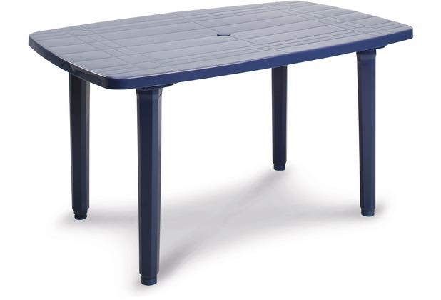 Best Tisch Festival 137x90cm blau Gartentisch