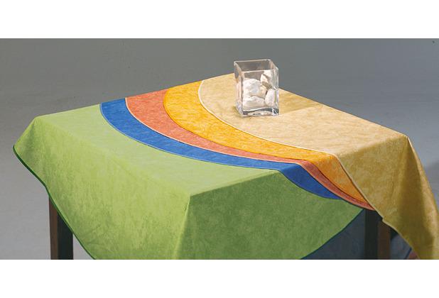 Best Tischdecke rund 130cm grau-marm.