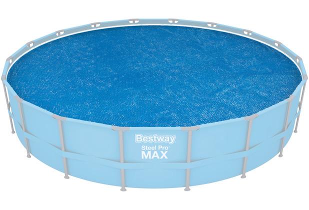 Bestway Flowclear Solarabdeckplane Ø 527 cm, blau (58173)