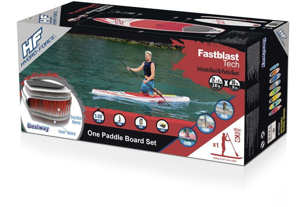"Bestway Hydro-Force SUP Race-/Fast Touring-Board ""Fastblast Tech"" (65306)"
