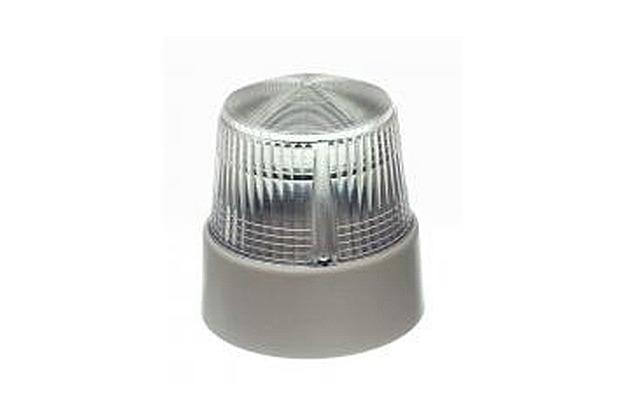 Bezet Rufsignal Blitz Typ 840, klar, Abdeckung bzw. Lichtfilter klar-tranparent (farblos), IP 54