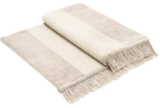 Biederlack Cotton Cover Salt & Pepper natur 100x200