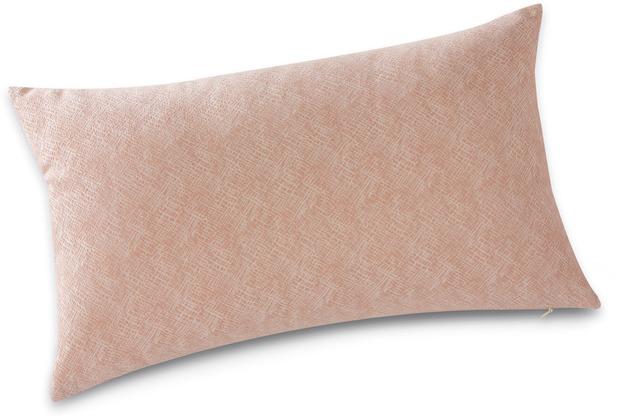 Biederlack Kissen taupe 30 x 50 cm