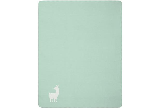 Biederlack Lovely & Sweet Alpaca mint 100 x 150 cm