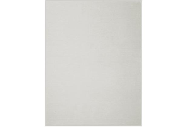 Biederlack Plaid / Decke Pure Cotton eis Samtband-Einfassung 150 x 200 cm