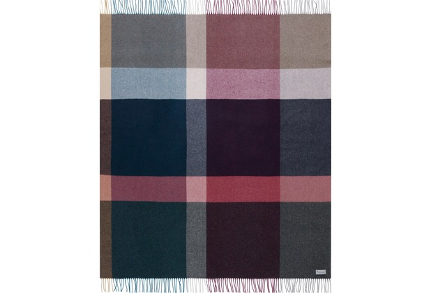 Biederlack Plaid / Decke Variat. purple 130 x 170 cm