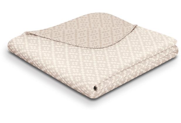 Biederlack Plaid / Decke Wohndecke Cautious Gekettelter Zierstich 150 x 200 cm